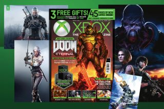 An image of Doom on the cover of Official Xbox Magazine