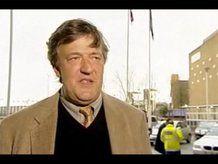Stephen Fry - more than 100,000 Twitter followers