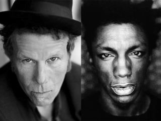 "Tom Waits (left): ""Not usually a fan of other people"""