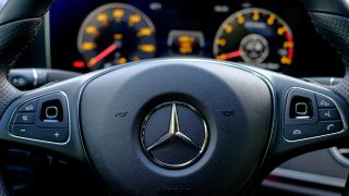 Mercedes E300 steering wheel