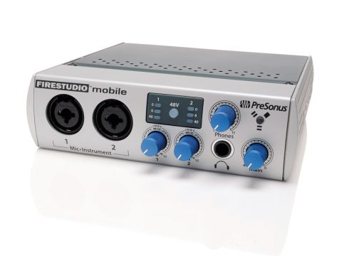 The FireStudio Mobile's preamps are its standout sonic feature.