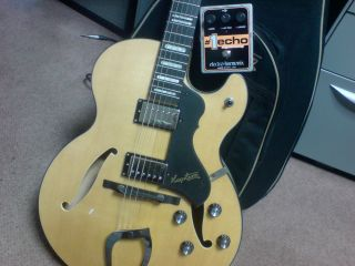 New goodies from Hagstrom and EHX, and a nasty office carpet