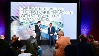 Samsung and BMW partner for 5G smart car.