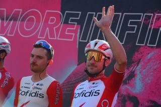 Giro dItalia 2020 103th Edition 11th stage Porto SantElpidio Rimini 182km 14102020 Elia Viviani ITA Cofidis photo Dario BelingheriBettiniPhoto2020