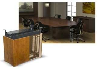 Middle Atlantic Brings Under Table Rackmounting to Meeting Spaces