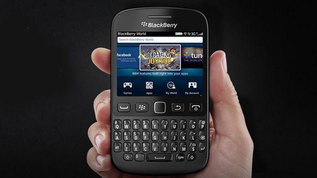 Backwards thinking: BlackBerry launches 9720 phone running BB7 OS