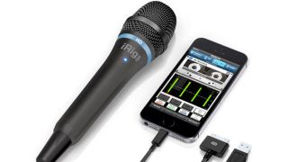 The iRIg Mic HD can plug into iOS devices and your Mac