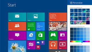 Extensive Windows Blue screengrab leak shows off smaller tiles and IE 11