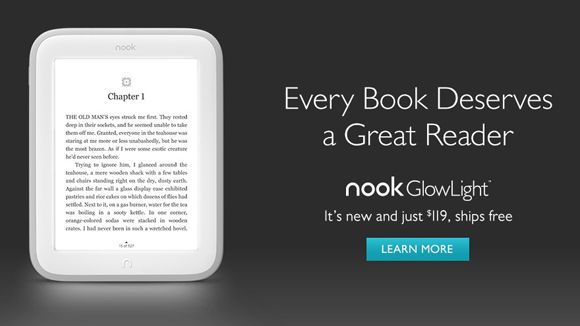 Kindle Vs Sony Reader: Barnes & Noble's New Nook GlowLight Is Designed For The