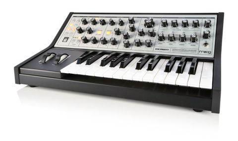 The Moog Sub Phatty positively screams 'tweak me!' It's all about hands-on discovery