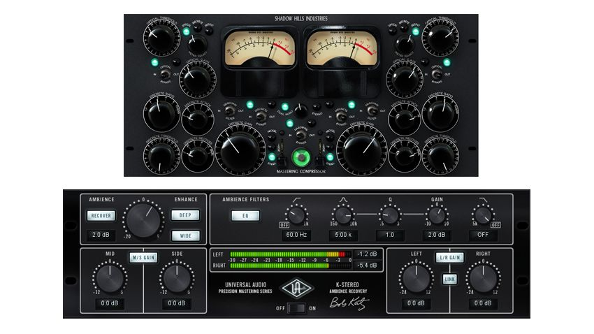 New mastering compressor and K-Stereo