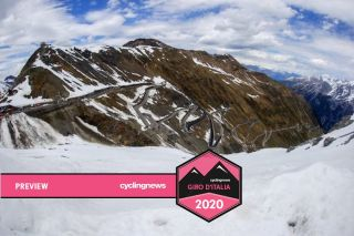 Stage 16 of the Giro d'Italia 2017 Stelvio