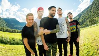 A promotional picture of A Day To Remember