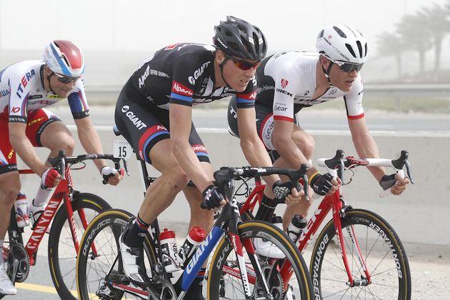 Ramon Sinkeldam at the 2015 Tour of Qatar (Sunada)