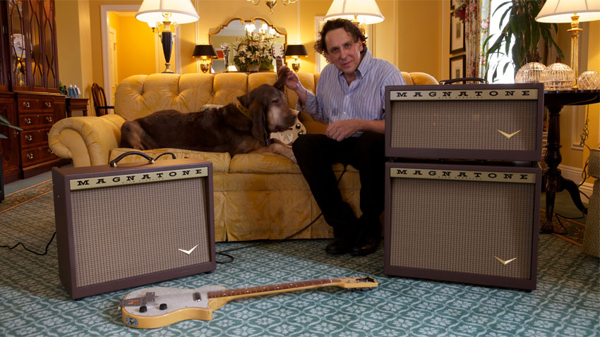 NAMM 2013: Legendary amp nd Magnatone returns | MusicRadar on vintage stereo amplifier, airline amplifiers, vintage hi-fi tube, magnatone twilighter amplifiers, vintage 1950s wood speaker, vintage magnatone guitar, vintage marshall amp models, vintage magnatone m9, vintage amps 1960, magnatone trubador guitar amplifiers, 1960s guitar amplifiers, rare magnatone amplifiers, vintage magnatone troubadour,