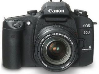 Canon EOS 50D details leaked