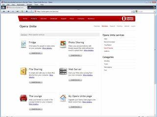 Opera Unite - reinventing the web?