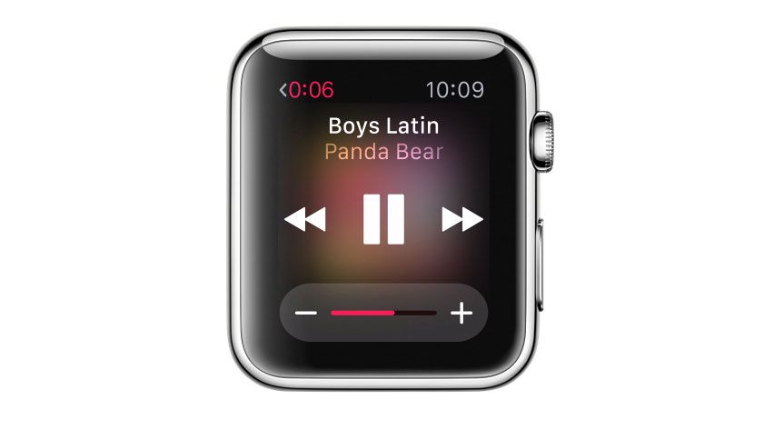 How to play Apple Watch music through a