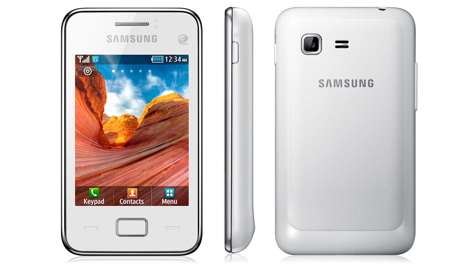 Samsung tocco lite 3g settings