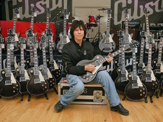 Jeff Beck and many signature Les Pauls