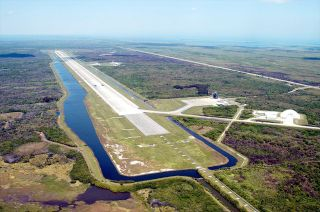 NASA Hands Over Shuttle Landing Facility