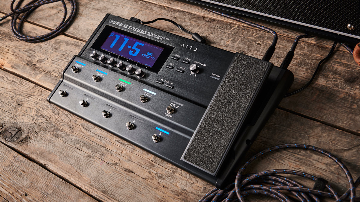 Boss adds GT-1000 bass guitar support, new footswitch modes and more in V3 update