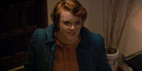 Barb at the party in Stranger Things