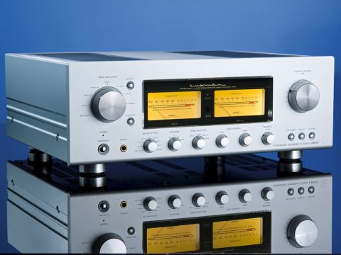 Luxman L550A-II integrated amplifier