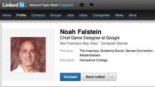 Noah Falstein LinkedIn profile
