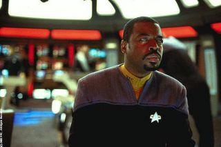"""LeVar Burton as Geordi La Forge from """"Star Trek: Nemesis."""""""
