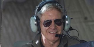 Harrison Ford playing the pilot role again in The Expendables 3