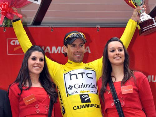 Frantisek Rabon wins overall, Tour of Murcia 2010