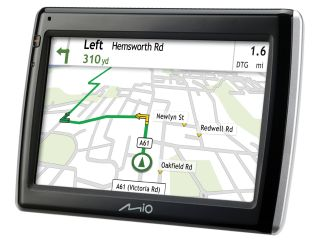 Mio Navman 575: What can we say? it's a sat nav