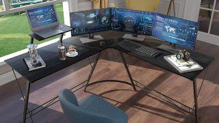 best l-shaped computer desks Casaottima