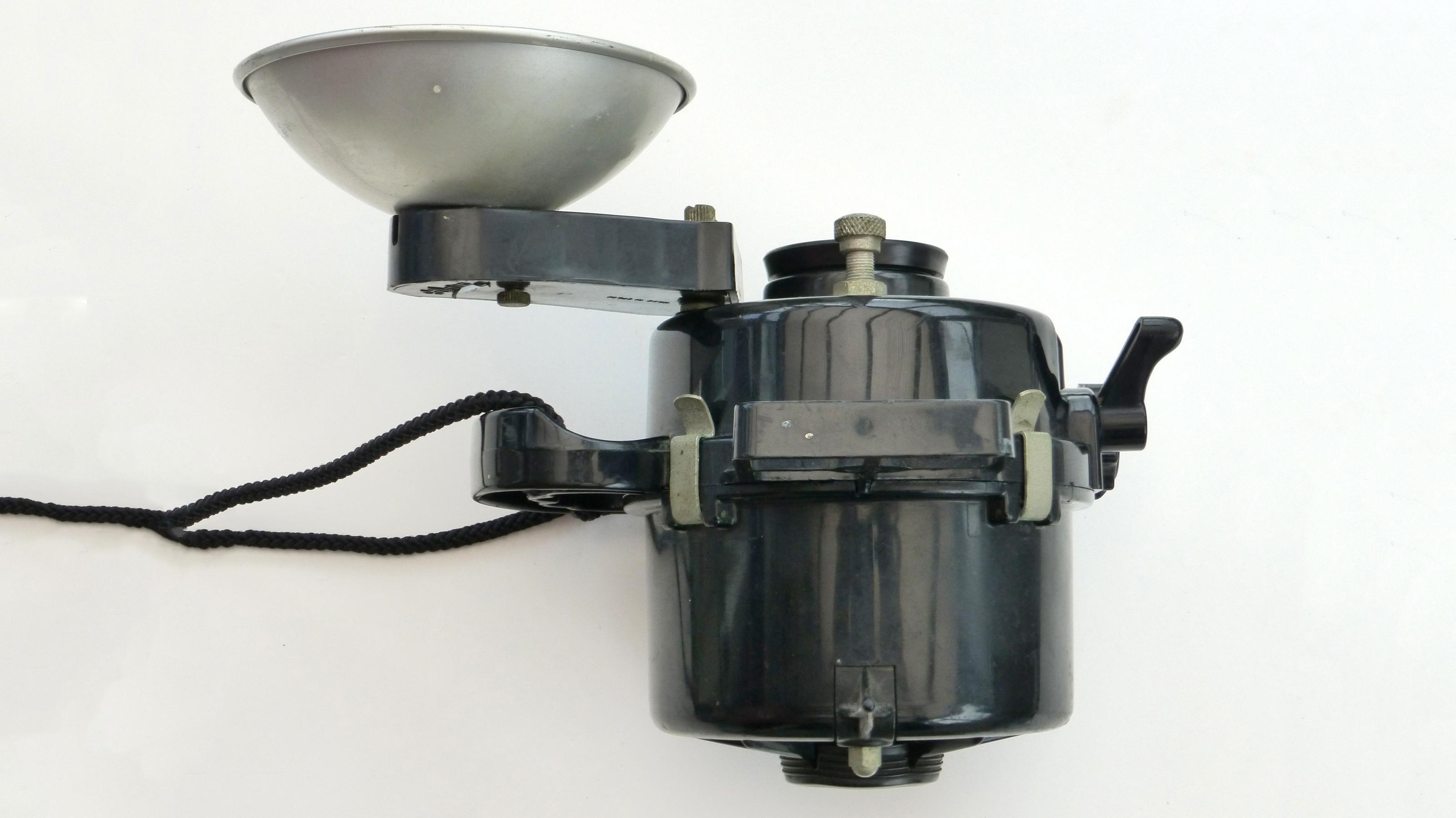The top of the Nemrod Siluro underwater camera