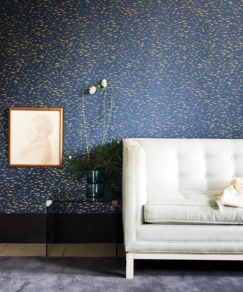 Farrow Ball Launch New Metallic Wallpaper Collection For