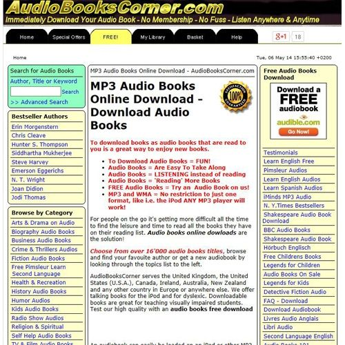 Audio Books Corner Review - Pros, Cons and Verdict | Top Ten Reviews