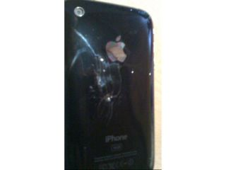 The burnt iPhone or is it