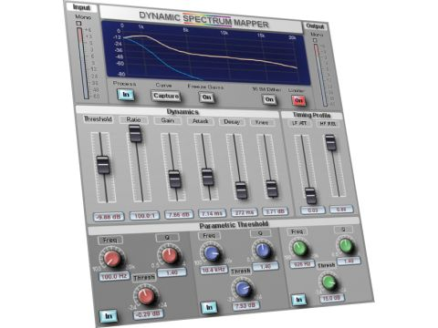 DSM looks a bit like a multi-band compressor, but there's more to it than that.