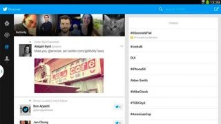 Twitter optimised for Android tablets Samsung nabs exclusivity for now