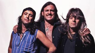 Picture of Phil Campbell, Lemmy and Mikkey Dee in 1995