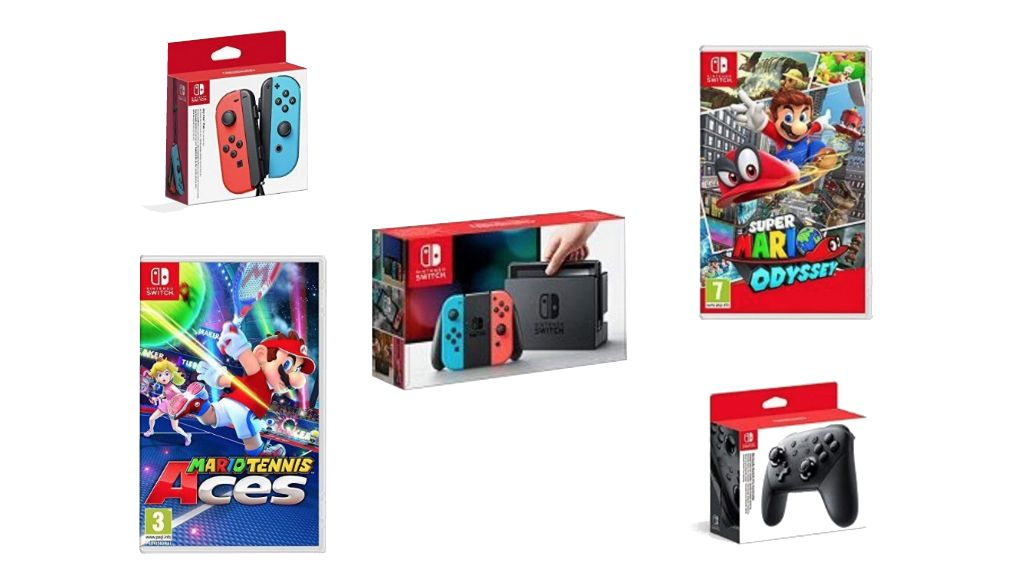 Two Nintendo Switch UK bundles are up for sale on Amazon Prime Day, and they're the console's best deals in 2018