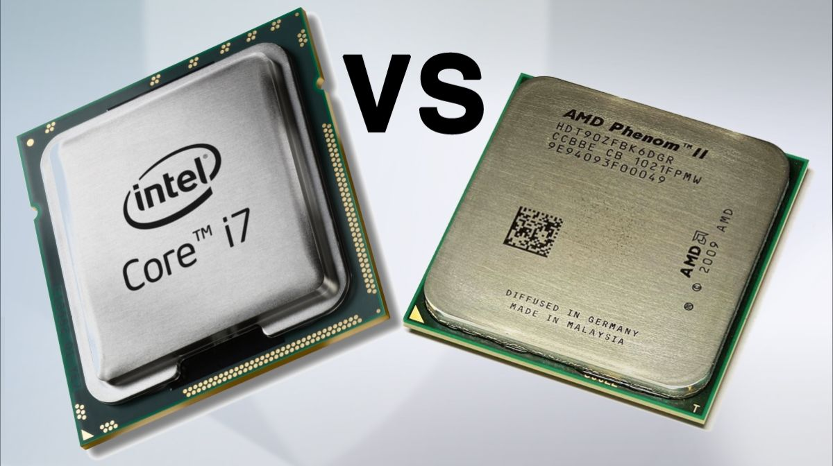 A comparison of amd and intel processors