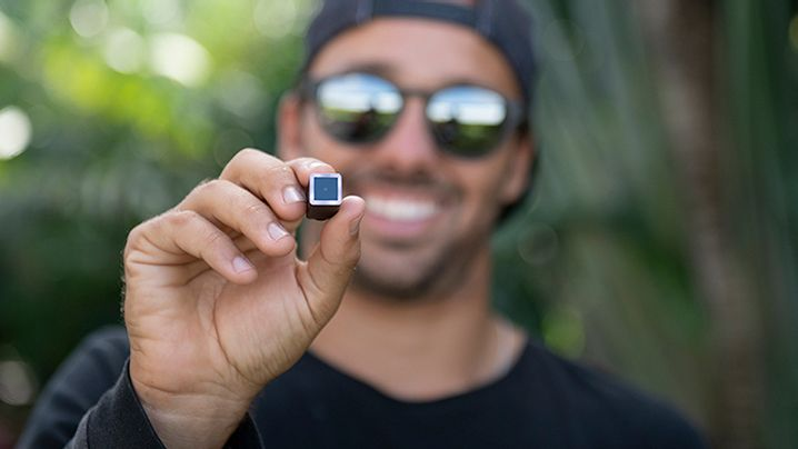 World's smallest wearable action camera is the size of two sugar cubes!