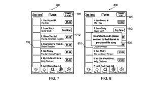 Apple s latest patent allows you to buy music without an internet connection