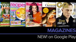 Magazines arrive on Google Play in Australia