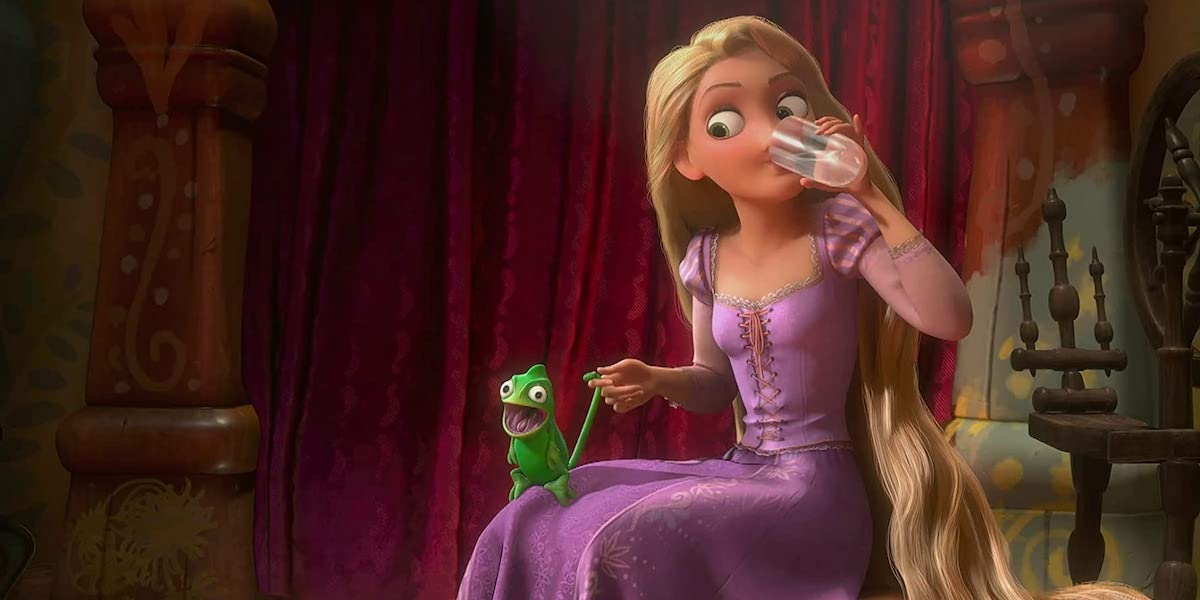 Rapunzel and Pascal in Tangled, When Will My Life Begin