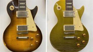 Gibson Murphy Lab Les Pauls