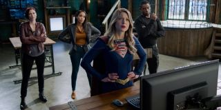 Kara and friends Supergirl The CW