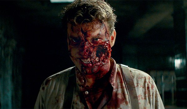 Pilou Asbæk as a Nazi zombie in Overlord